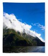 Milford Sound #2 Fleece Blanket