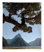 Milford Sound Fleece Blanket