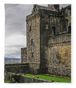 Military Fortress Fleece Blanket