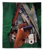 Military Small Arms 02 Ww II Fleece Blanket