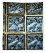 Miller Factory Window Panes Fleece Blanket