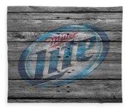 Miller Lite Fleece Blanket