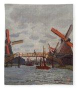 Mills At Westzijderveld Fleece Blanket