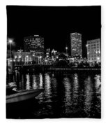 Milwaukee Downtown Third Ward Fleece Blanket