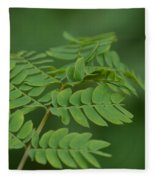 Mimosa Greens Fleece Blanket