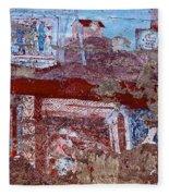 Miner Wall Art 2 Fleece Blanket