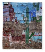 Miner Wall Art 3 Fleece Blanket
