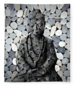 Mineral Buddha Fleece Blanket