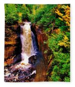 Miner's Falls Fleece Blanket
