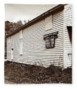 Mingo Post Office And Foxhill Farms General Store Fleece Blanket