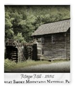 Mingus Mill - Color Poster Fleece Blanket