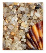 Mini Beach Vacation Fleece Blanket