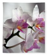 Mini Orchids 1 Fleece Blanket