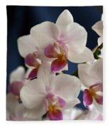 Mini Orchids 3 Fleece Blanket