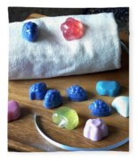 Mini Soaps Collection Fleece Blanket