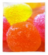 Mini Sugar Fruits Fleece Blanket