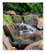 Mini Water Fall Fleece Blanket