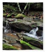 Mini Waterfalls Fleece Blanket