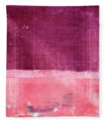 Minima - S02b Pink Fleece Blanket