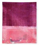 Minima - S02b Pink Fleece Blanket
