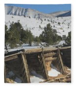 Mining History Fleece Blanket
