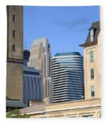 Minneapolis Fleece Blanket