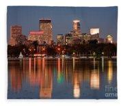 Minneapolis Fleece Blanket