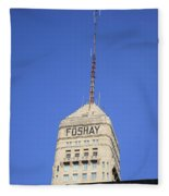 Minneapolis Tower Fleece Blanket