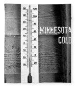 Minnesota Cold Fleece Blanket
