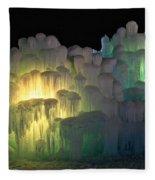 Minnesota Ice Castle 2013 Fleece Blanket