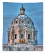 Minnesota State Capitol St Paul Mn Fleece Blanket
