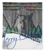 Minnesota Timberwolves Fleece Blanket