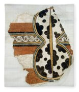 Minoan Livestock Painting Fleece Blanket