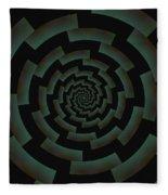 Minotaur's Labyrinth Fleece Blanket