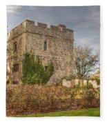 Minster Abbey Gatehouse Fleece Blanket