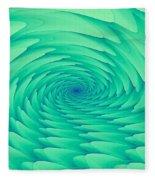 Mint Cave Fleece Blanket