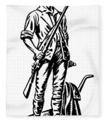 Minutemen Fleece Blanket
