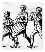 Minutemen: Spirit Of 1776 Fleece Blanket