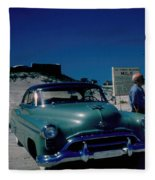 Miracle Mile Oldsmobile Fleece Blanket