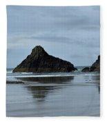 Mirror Image Fleece Blanket