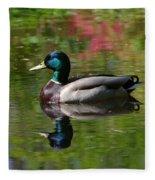 Mirror Reflection Fleece Blanket