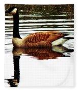 Mirrored Goose Fleece Blanket