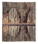 Mirrored Opening Fleece Blanket