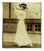 Miss Katherine Harley Fleece Blanket