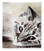 Miss Lilly Fleece Blanket