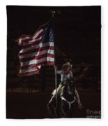 Miss Pro Rodeo Usa Fleece Blanket