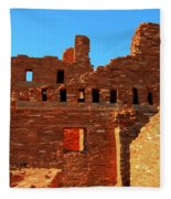 Mission Ruins At Abo Fleece Blanket