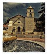 Mission San Buenaventura Fleece Blanket