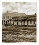 Mission San Francisco De Asis Mission Dolores And Mission House Calif. 1880 Fleece Blanket