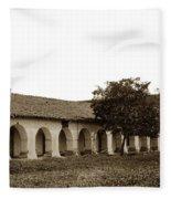 Mission San Juan Bautista San Benito County Circa 1905 Fleece Blanket
